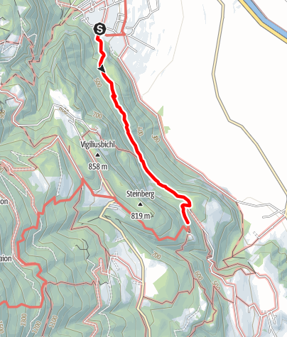 Map / Andriano - Castel Appiano - Andriano