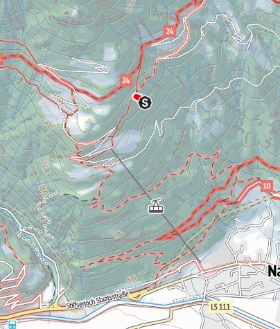 Map / Via Ferrata Knott Unterstell