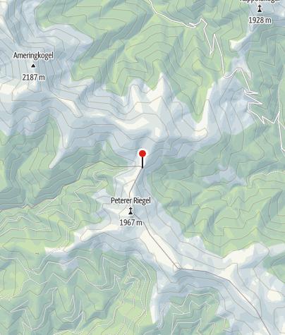 Karte / Peterer-Sattel