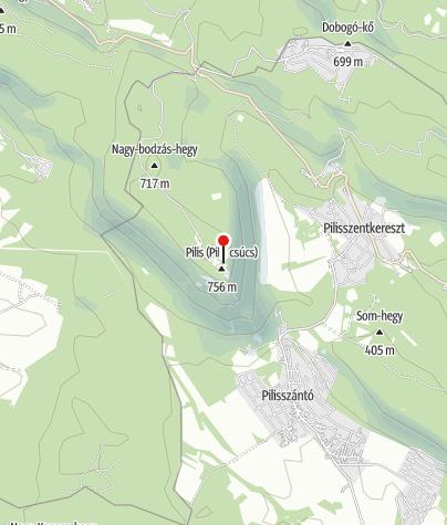 Térkép / Boldog Özséb-kilátó (Pilis-tető)