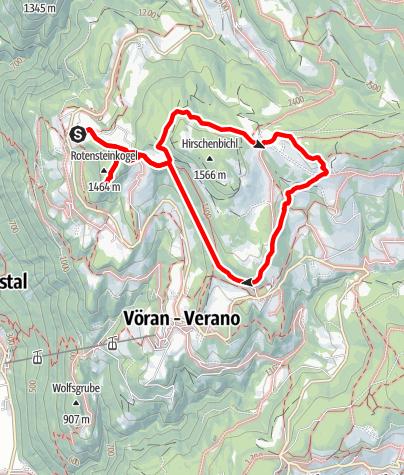Karte / Knottnkino im Etschtal: Die große Show der Natur
