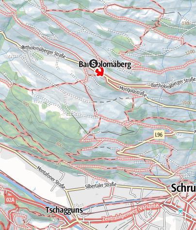 """Karte / Unterwegs mit dem """"Geistheiler"""" Luzius Hauser"""