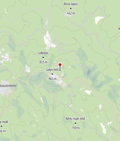 Térkép / Galya-kilátó (Péter-hegyese)