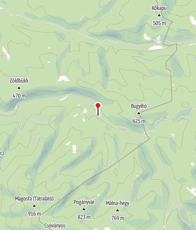 Térkép / Királyházai vendégházak (Alsó-Királyháza)