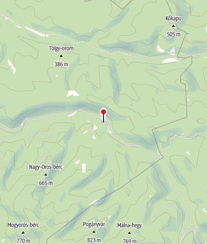Map / Királyházai vendégházak (Felső-Királyháza)