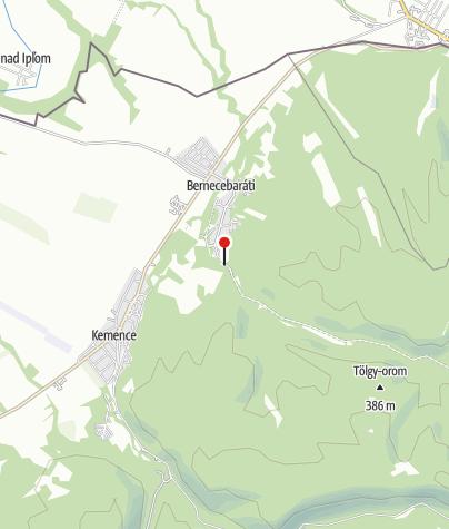 Térkép / Domszky Pál Erdei Iskola és Matracszállás
