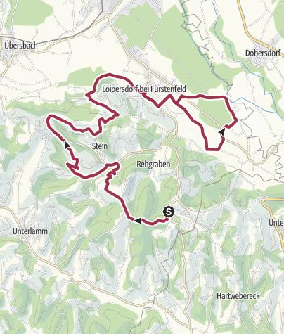 Karte / Buschenschanklauf 2021 neu Halbmarathon