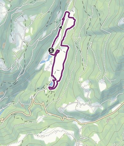 Cartina / Le Muse Fedaie nel Parco Naturale Paneveggio-Pale di San Martino - Tour 2264