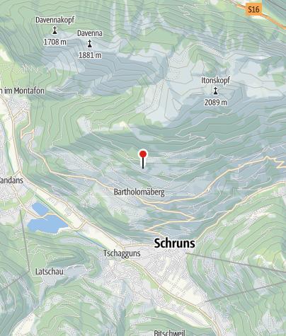 Karte / Mittelalterliche Bergbauzone Worms (Bergknappenweg)