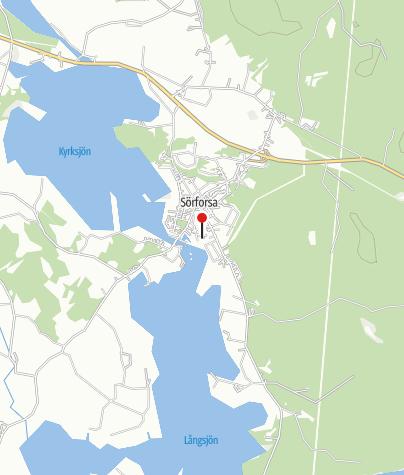 Karta / Jesu Hjärtas kapell, Sörforsa
