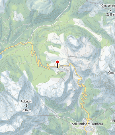 Mapa / Malga Rolle