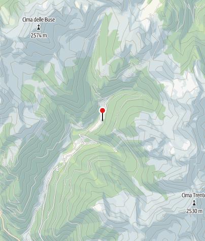 Karte / Malga Caserina di Dentro