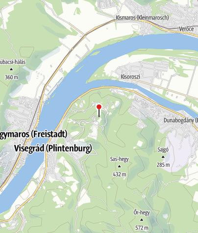 Térkép / Zsitvay-kilátó