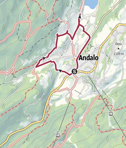 Map / Andalo - Maso Ghezzi, Maso Cadin, Maso Pegorar