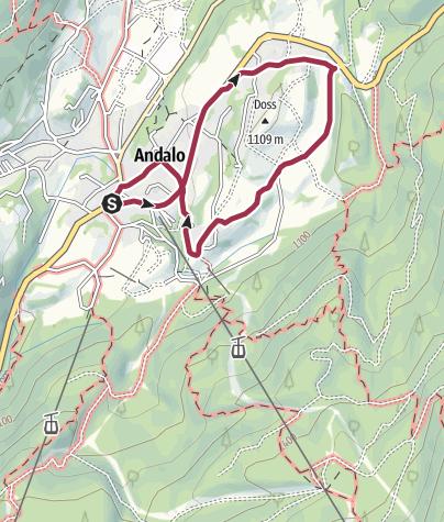 Cartina / Maso Toscana, le Villette, Maso Monego