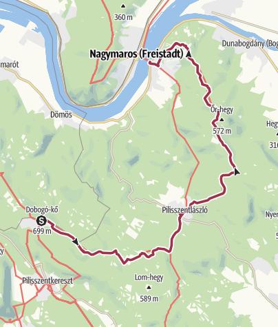 Térkép / Dobogókő - Visegrád (OKT-16.)