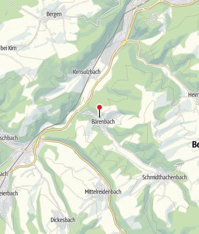 """Karte / Gasthaus """"Zum Rothenberg"""""""