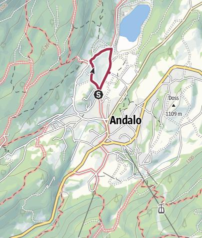 Cartina / Andalo, maso Pegorar e le caprette