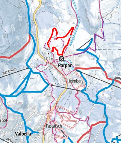 Map / Gruoben Tour Parpan