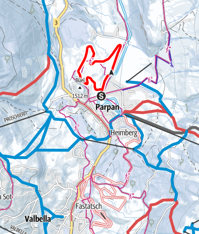 Map / Gruoben Tour Parpan
