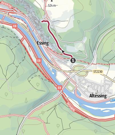 Map / [r]auszeit Familien-Erlebnis: kindergeeignete Wanderung zur Burg Randeck