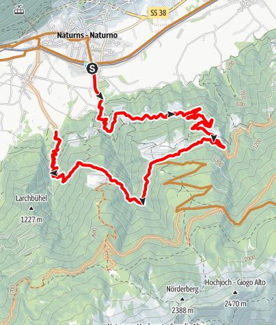 Mapa / Ötzi Flow Trail