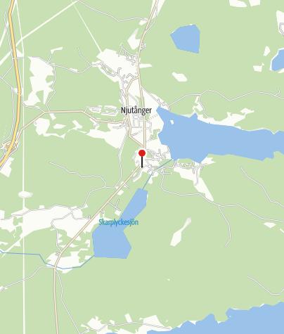 Karta / Brogården, Njutånger, Hudiksvall