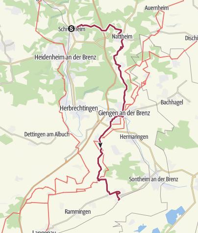 Karte / Reformationswanderweg