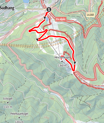 Mapa / Semmering Hirschenkogel