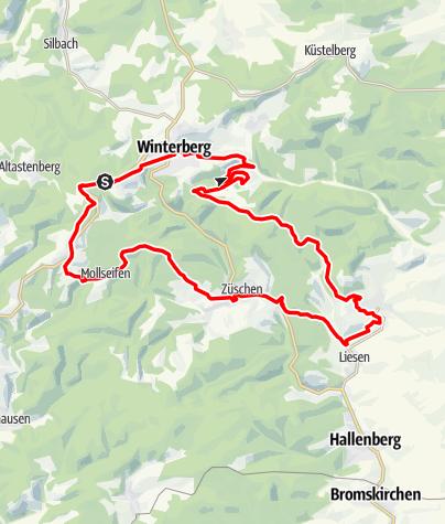 Karte / Mollseifen & Hesborner Wald