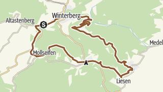 Map / Mollseifen & Hesborner Wald