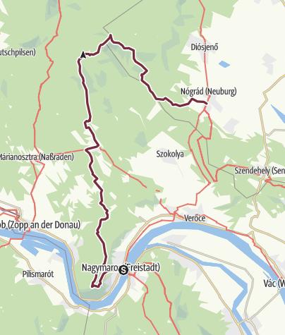 Map / Nagymaros – Nógrád (OKT-17)