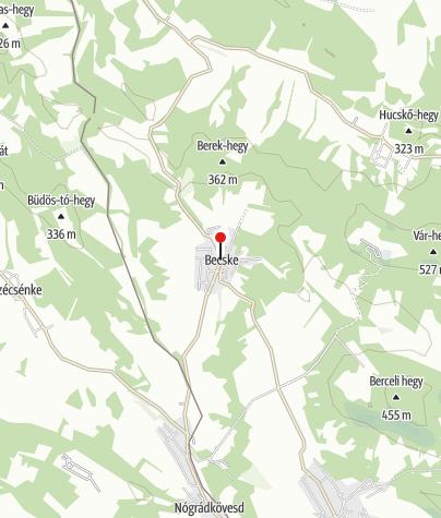 Map / Becske (OKTPH_92_2)