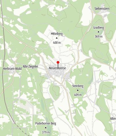 Karte / Neuenheerse - Bad Driburger Ortsteil