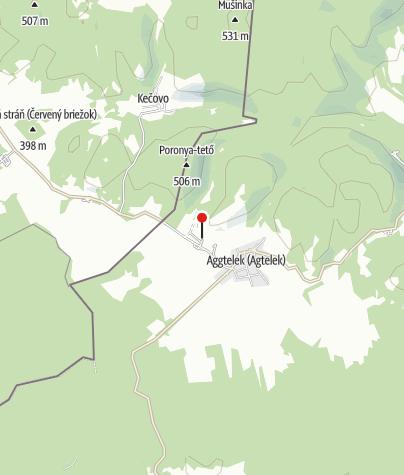 Térkép / Baradla-barlang, aggteleki barlangpénztár