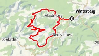 Karte / Bildchen & Hoher Knochen