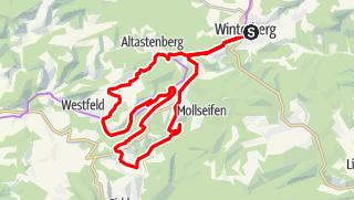 Karte / Kahler Asten Tour