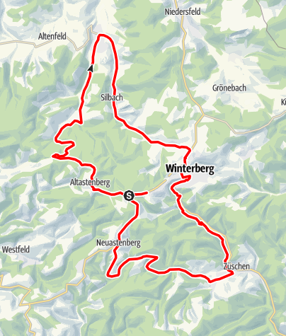 Map / Winterberger Wellenreiter
