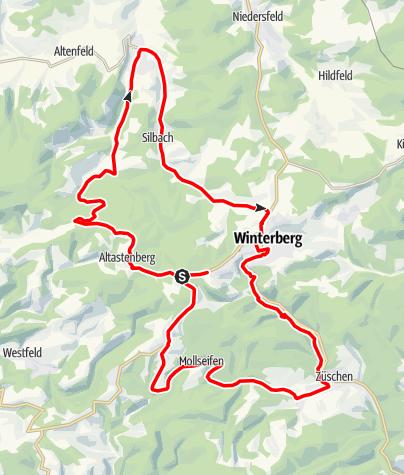 Kaart / Winterberger Wellenreiter