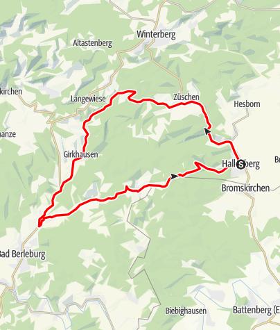 Map / Hallenberger Warm Up