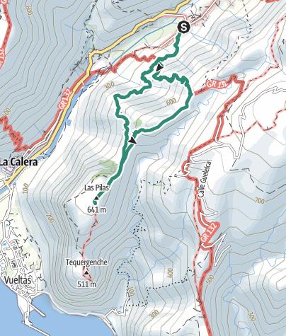 Mapa / Las Pilas