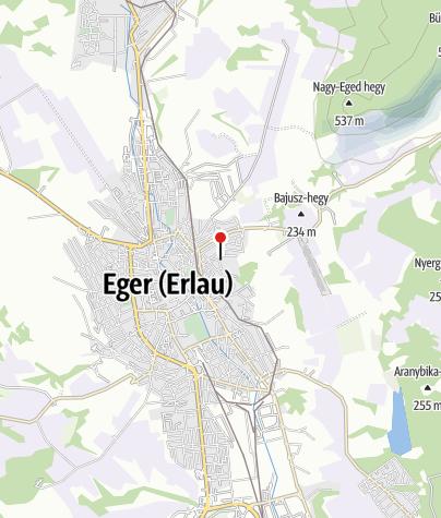 Mapa / Siesta Vendégház