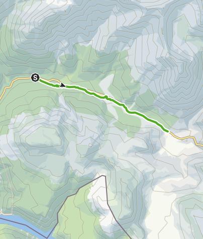 Map / Fuorntal: Entlang dem wilden Bergbach