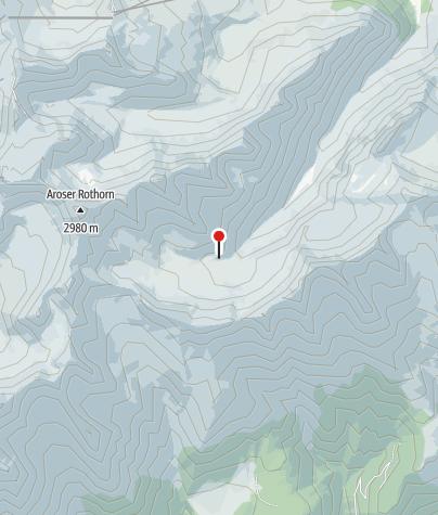 Map / SAC Ramoz Hut