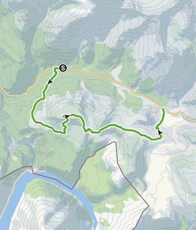 Map / Nationalpark: Munt la Schera - vom Gletscher geformt