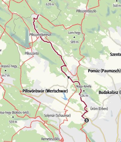 Map / Rozália téglagyár (brickyard) - Dobogókő (OKT-15)