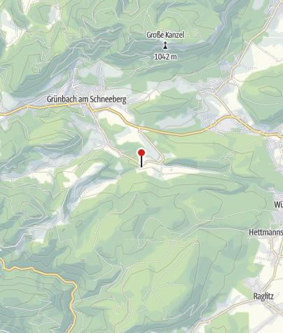 Karte / Bewegungsarena 5 Freunde im Schneebergland - Schrattenbach