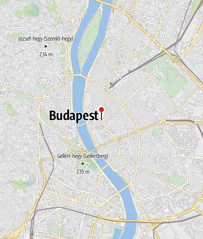 Térkép / Szent István Bazilika Érseki Társszékesegyház (lipótvárosi plébániatemplom)
