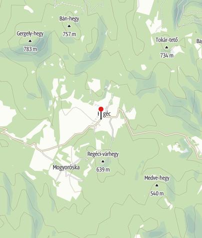 Térkép / Regéc (OKTPH_136_2)