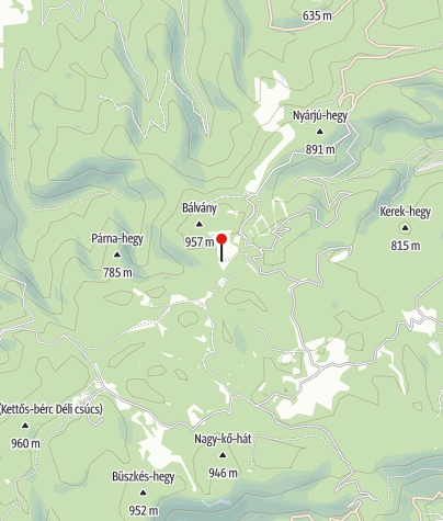 Karte / Csurgói Erdészház